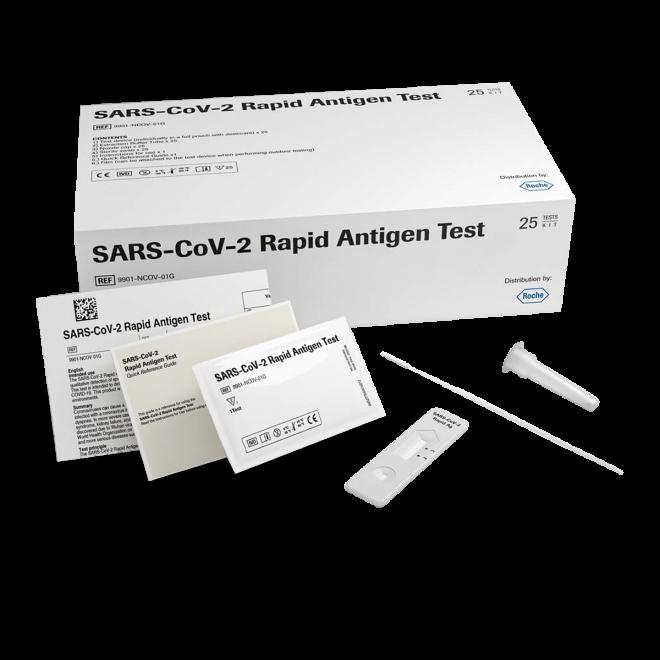 Roche Kit 25 Test Rapidi Antigene per SARS-CoV-2